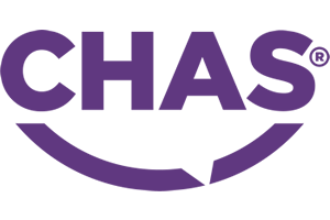 CHAS logo for George Pearce Construction Blackburn